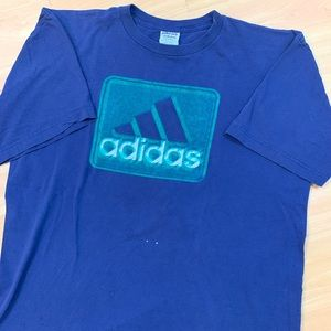Vintage Adidas Short Sleeve Spellout